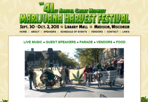 41st Annual Great Midwest Marijuana Harvest Festival - Madison, Wisconsin