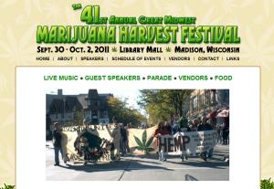 41st Annual Great Midwest Marijuana Harvest Festival - Madison, Wisconsin